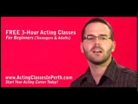FREE Acting Classes In Perth: FREE 3-Hour Acting Class For Beginners