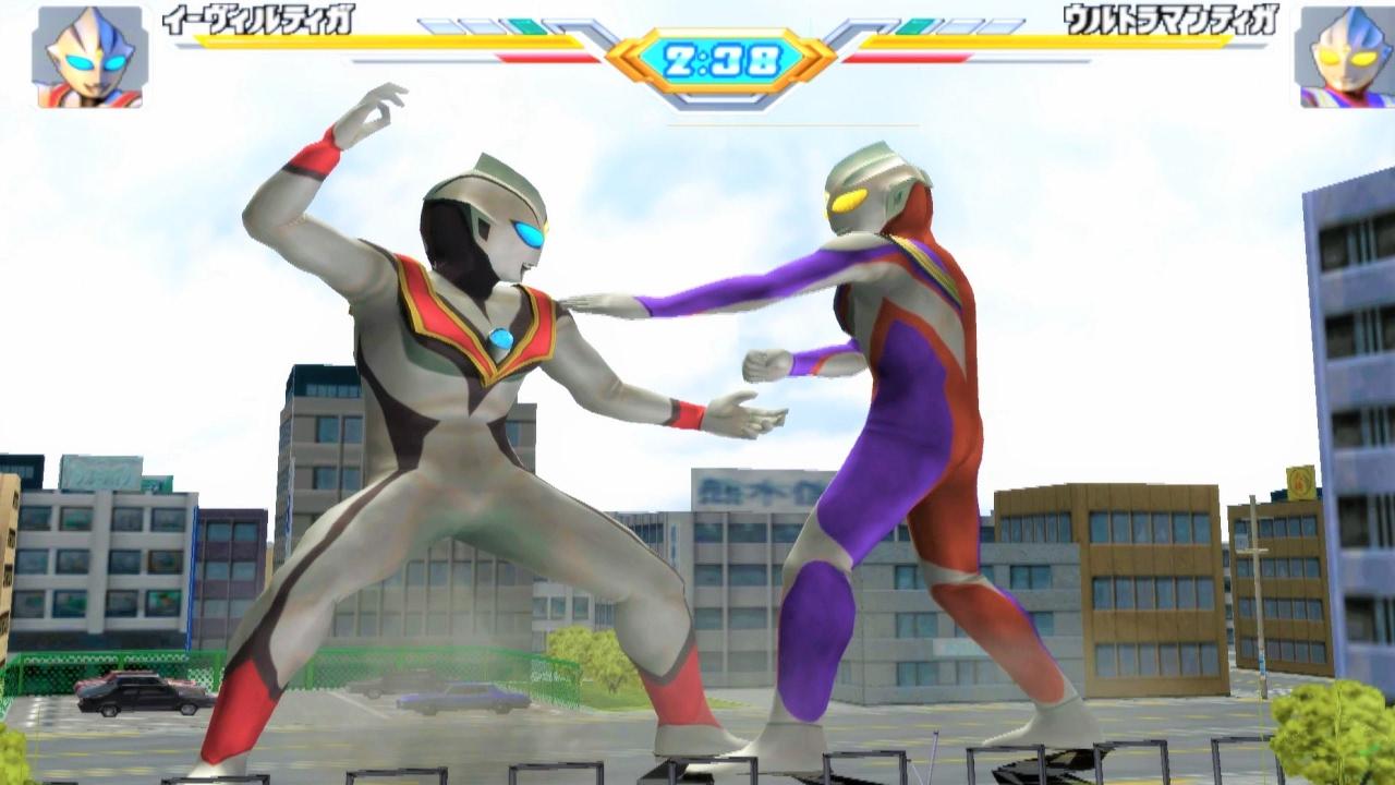 Sieu Nhan Game Play | Ultraman Tiga Vô Đối | Game Ultraman Fe3