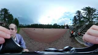 8mm shooting: 2019/06/19 Jyväskylä-Finland, Finnish baseball tournament - on-H8 360 camera