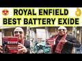 REPLACING BATTERY FOR ROYAL ENFIELD | EXIDE | SIMPY KAROL BAGH | JD VLOGS DELHI