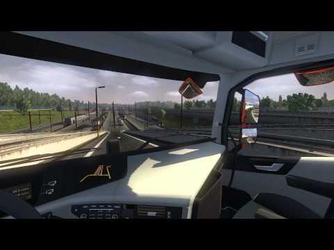 Euro Truck Simulator 2: Cardiff (GB) to Berlin (D)(Diesel (15t))(Beta 1.11.0.8s)