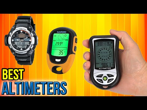 10 Best Altimeters 2017