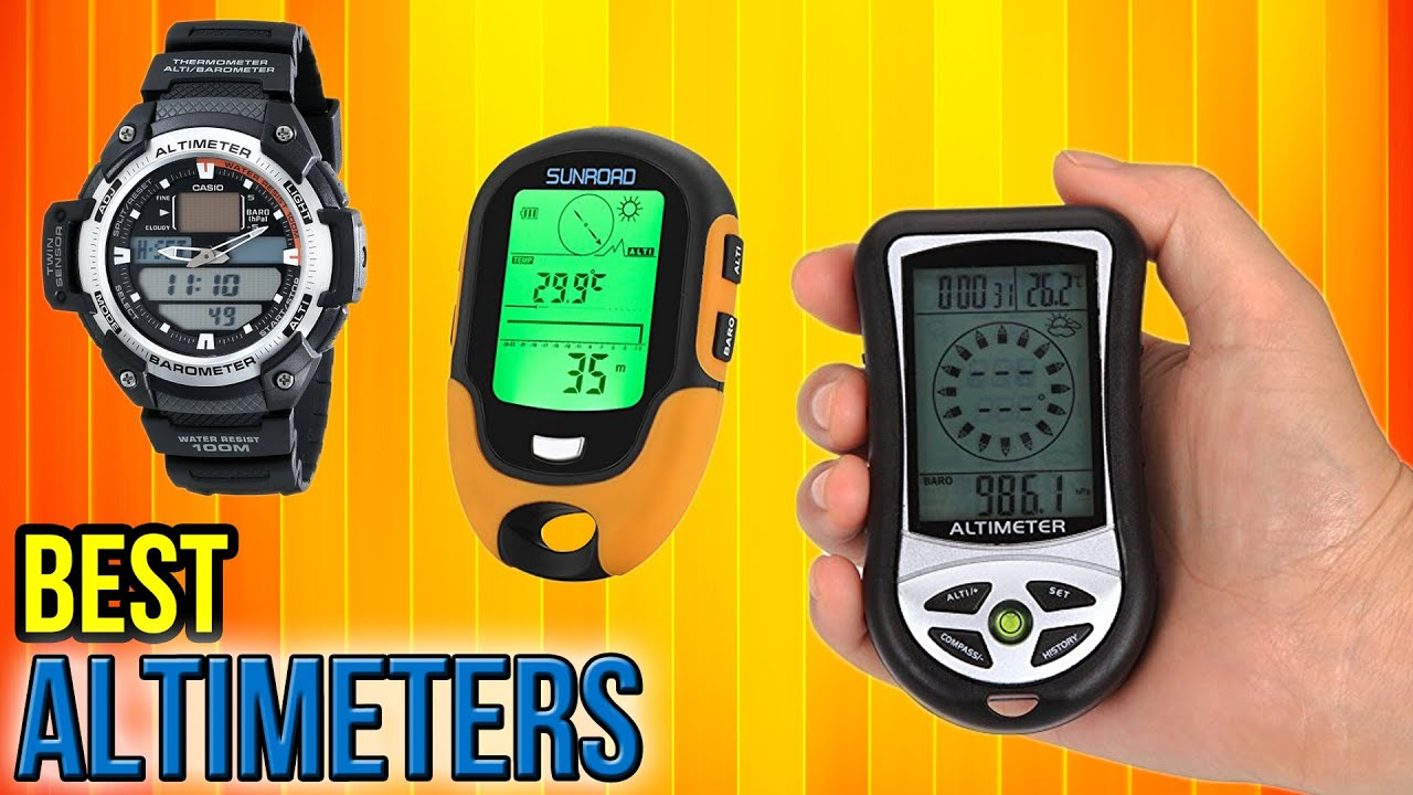VI Outdoor Sports Multifunction Altimeter Barometer Compass Thermometer 4 in 1