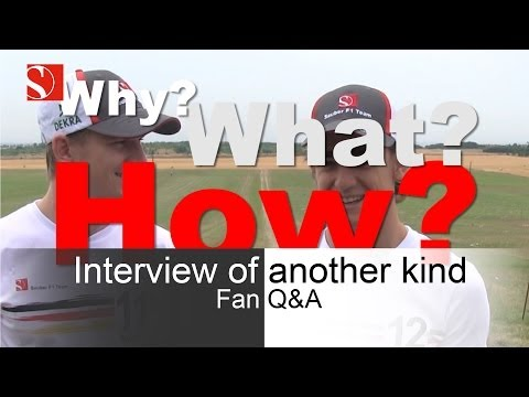 Interview of another kind - Fan Q&A - Sauber F1 Team