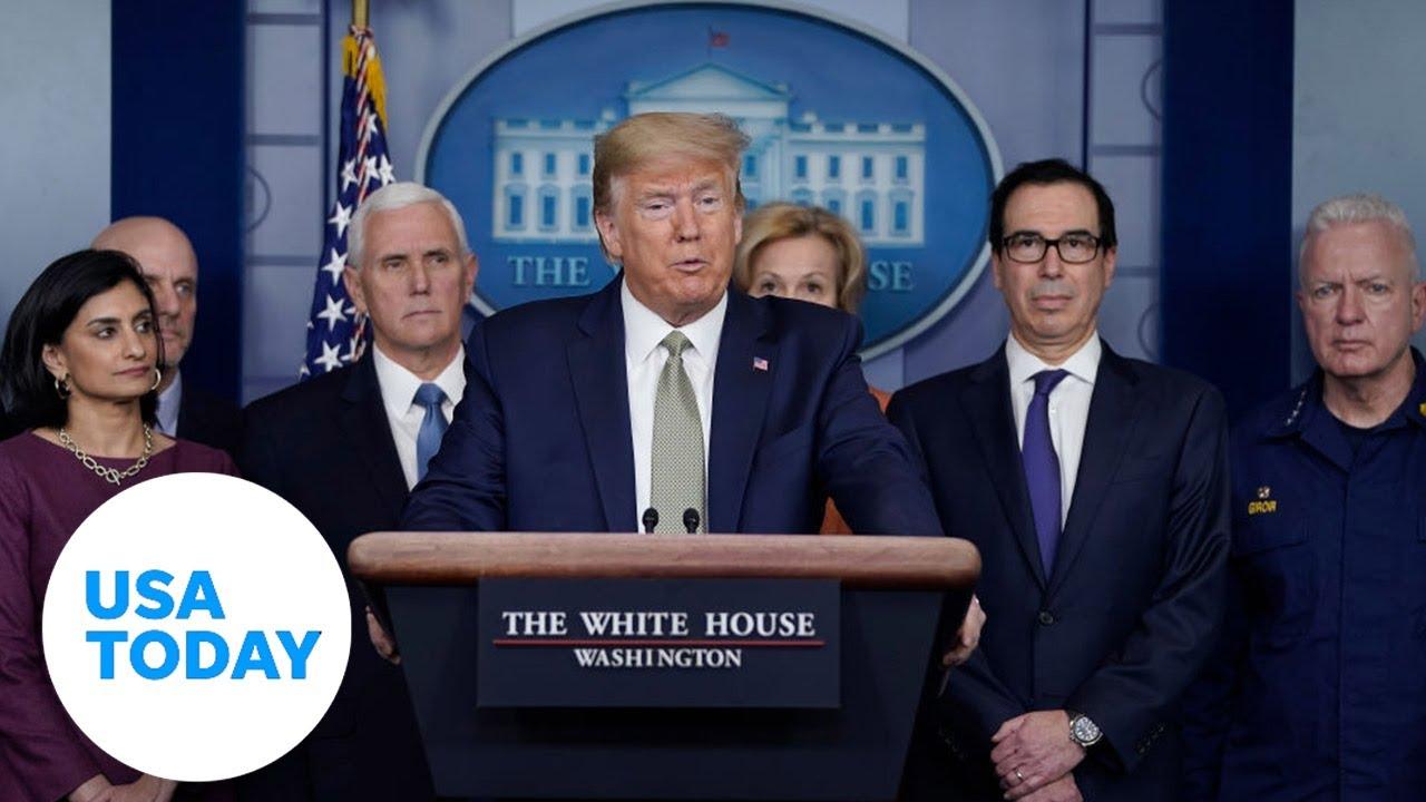 White House addresses coronavirus outbreak: 3/17/2020 | USA TODAY