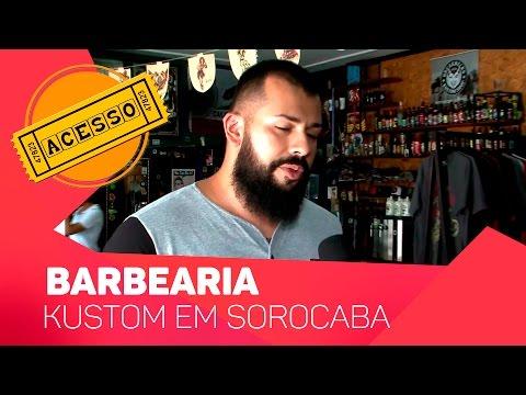 Acesso: Barbearia Kustom em Sorocaba - TV SOROCABA/SBT