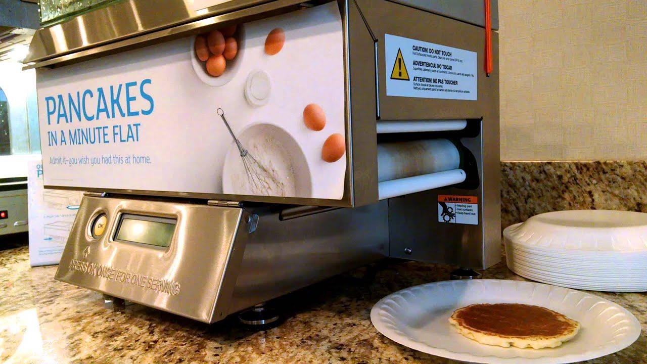 2c032ee797b Holiday In Express Pancake Machine - YouTube