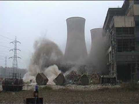 Controlled Demolition of Turbine Hall No1