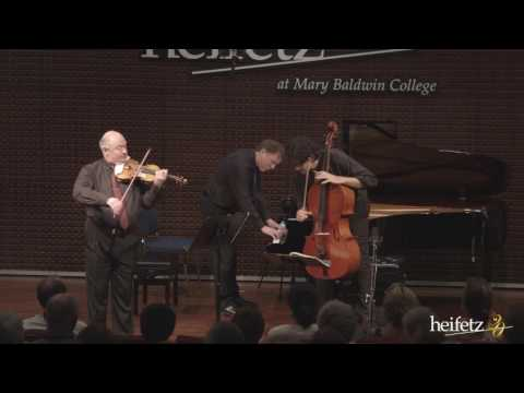 Heifetz 2016:  Tempest Trio | Bernstein: March from 1937 Piano Trio