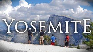 Yosemite National Park In 4k | Backpacking, Hiking, And Camping At North Dome/upper Falls