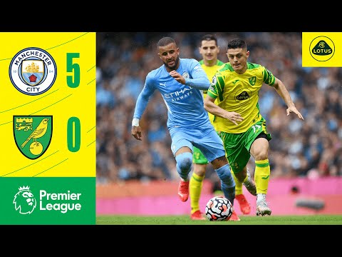 Manchester City Norwich Goals And Highlights