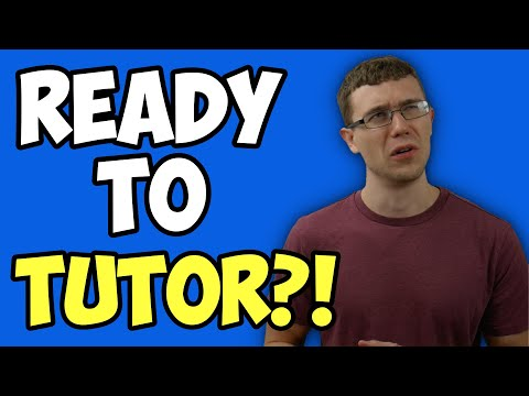 Are YOU Ready To Be A Math Tutor? (Answering A Viewer's Question)