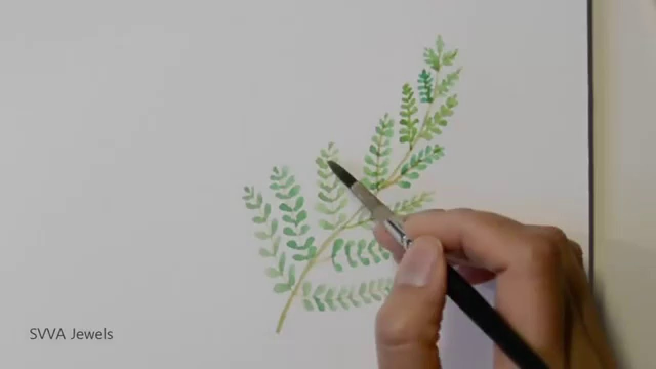 how to make watercolour paint