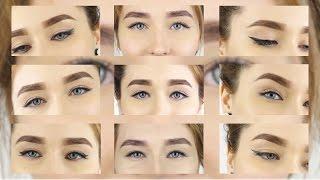 видео Макияж для близко и далеко посаженных глаз