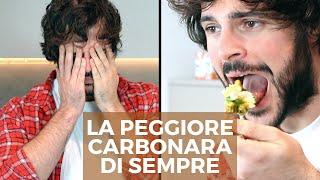 La carbonara francese (FAIL) | Cucina Buttata - Guglielmo Scilla