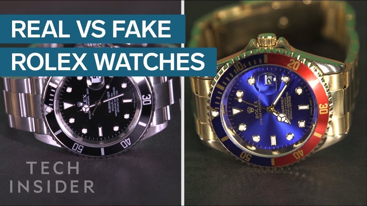 Three Ways To Spot A Fake Rolex According To A Watch Expert Youtube
