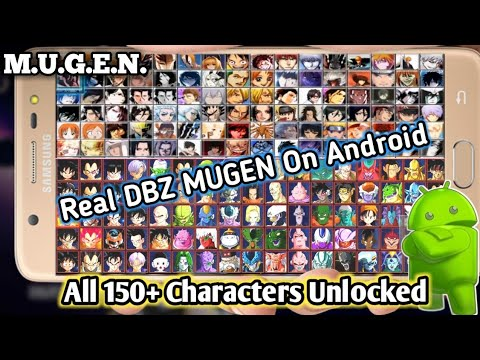 New DBZ Real MUGEN 2019 On Android With 150+  Character & Ultimate Attacks Download