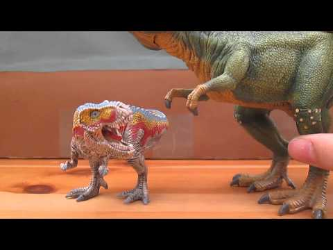 Review 75: Schleich World of History Mini Tyrannosaurus