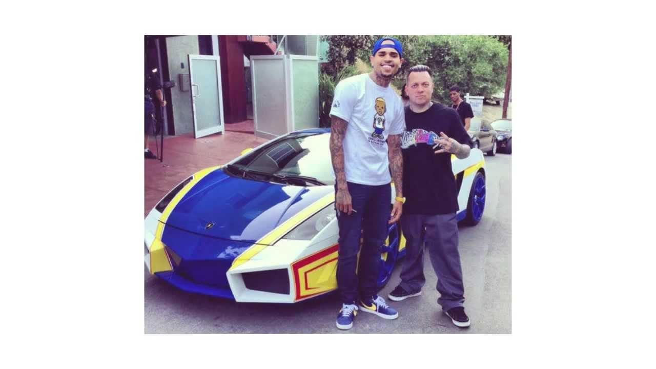 Chris Brown S Lamborghini Gallardo Quot El Toro Quot Supercar Youtube