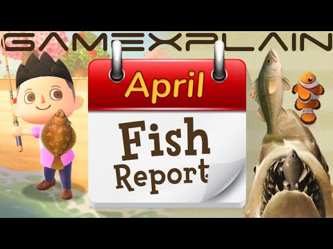 How To Catch April Fish In Animal Crossing: New Horizons! (Monthly Fishing Guide)