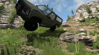 American Road BeamNG.Drive map