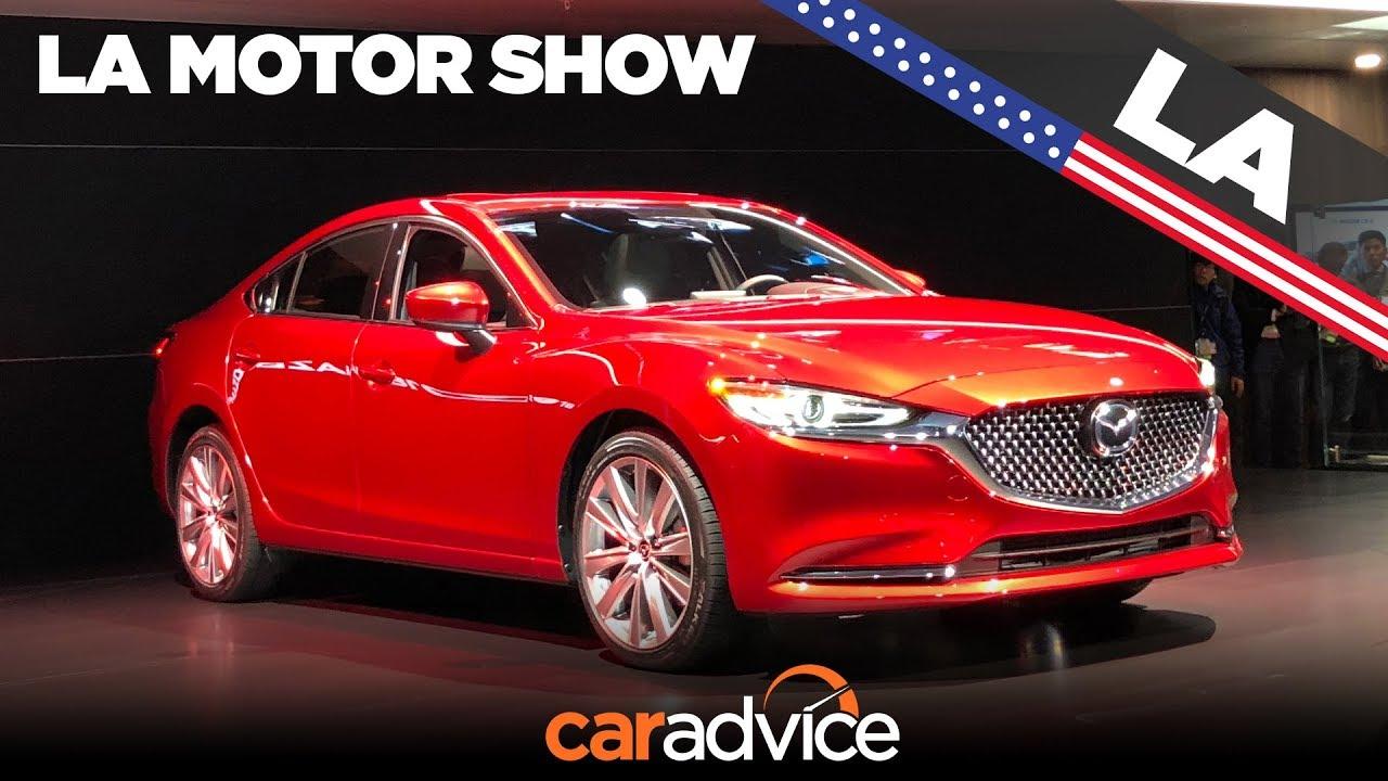 2018 Mazda 6 facelift revealed: LA Auto Show - Dauer: 81 Sekunden