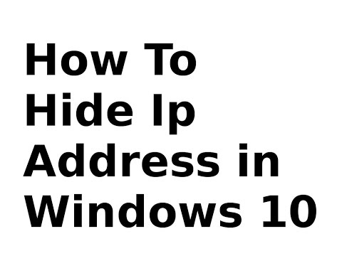 HOW TO Hide Your IP Address?(easy way 2k16 NEW)