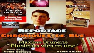 """Maxime Brunerie : """"Plusieurs vies en une"""" (Reportage)"""