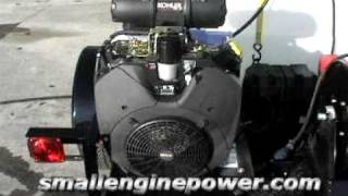 Kohler 40 HP Engine Under Load
