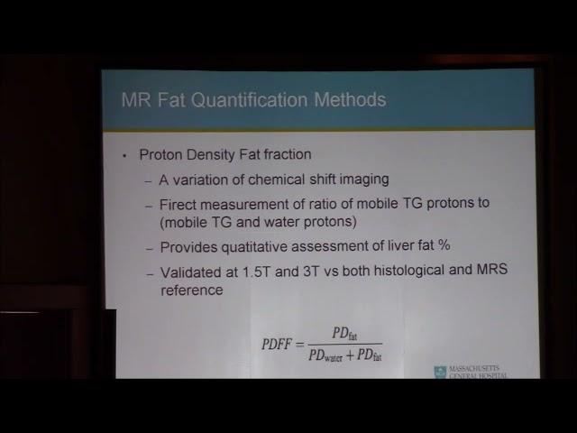 Metabolic liver MRI  Michael Gee
