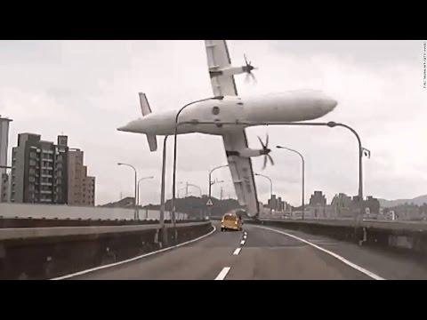 اقوى حوادث الطائرات في العالم