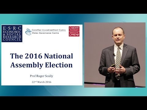 The 2016 Wales Governance Centre Pre-Election Briefing