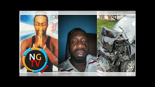 Nigerian singer Sky B involved in a ghastly car accident