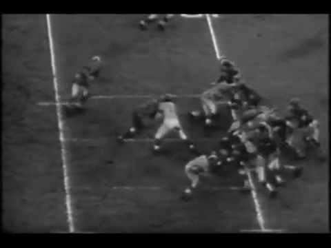 Los Angeles Rams vs Baltimore Colts 1955