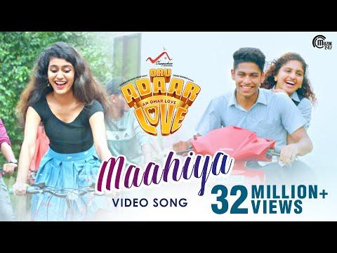 oru-adaar-love-|-maahiya-video-song-|-noorin-shereef,-roshan,-priya-varrier|-shaan-rahman-|omar-lulu