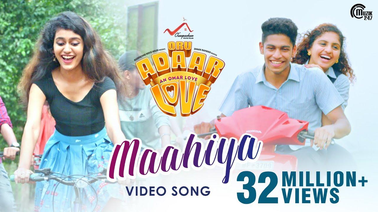 Download Oru Adaar Love   Maahiya Video Song   Noorin Shereef, Roshan, Priya Varrier  Shaan Rahman  Omar Lulu