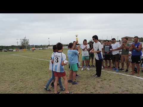 Atlético Florida fútbol infantil premiación