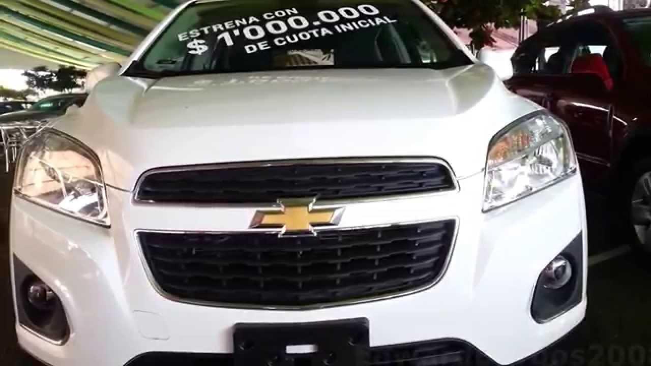 2015 Chevrolet Tracker LS 2015 al 2016 precio ficha tecnica Caracteristicas Colombia - YouTube
