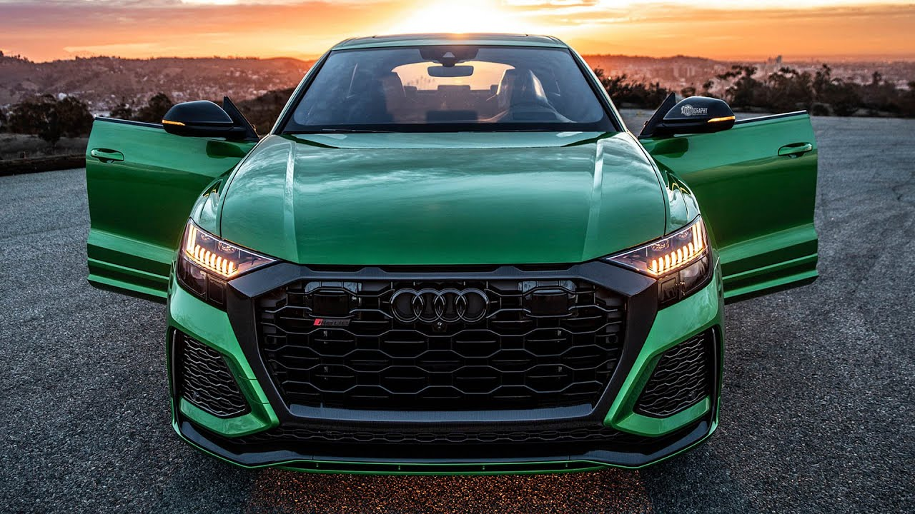 THE WAIT IS OVER! 2020 AUDI RSQ8