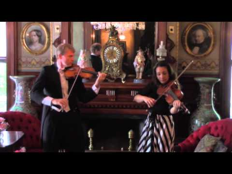 Miller Porfiris Duo plays Robert Fuchs 12 Duette Op.60