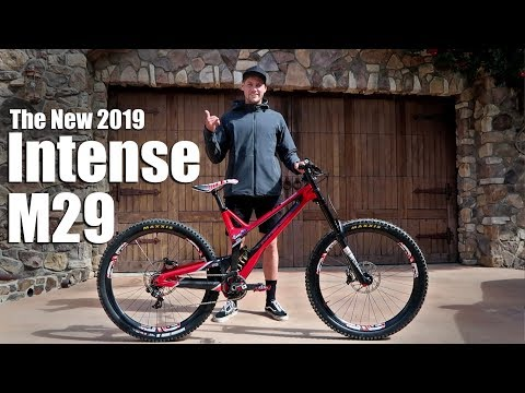 THE NEW 2019 INTENSE M29 DOWNHILL BIKE
