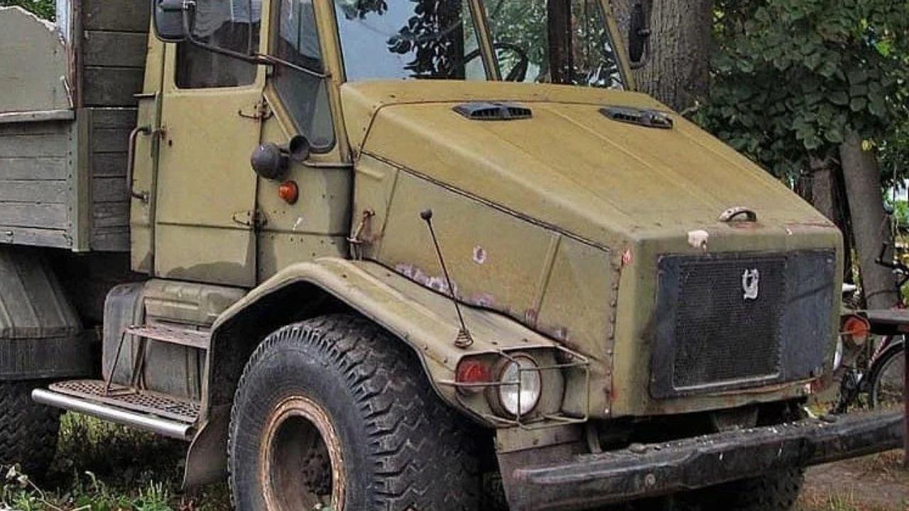 Фермер собрал УНИКАЛЬНЫЙ грузовик с кабиной от трактора Т 150