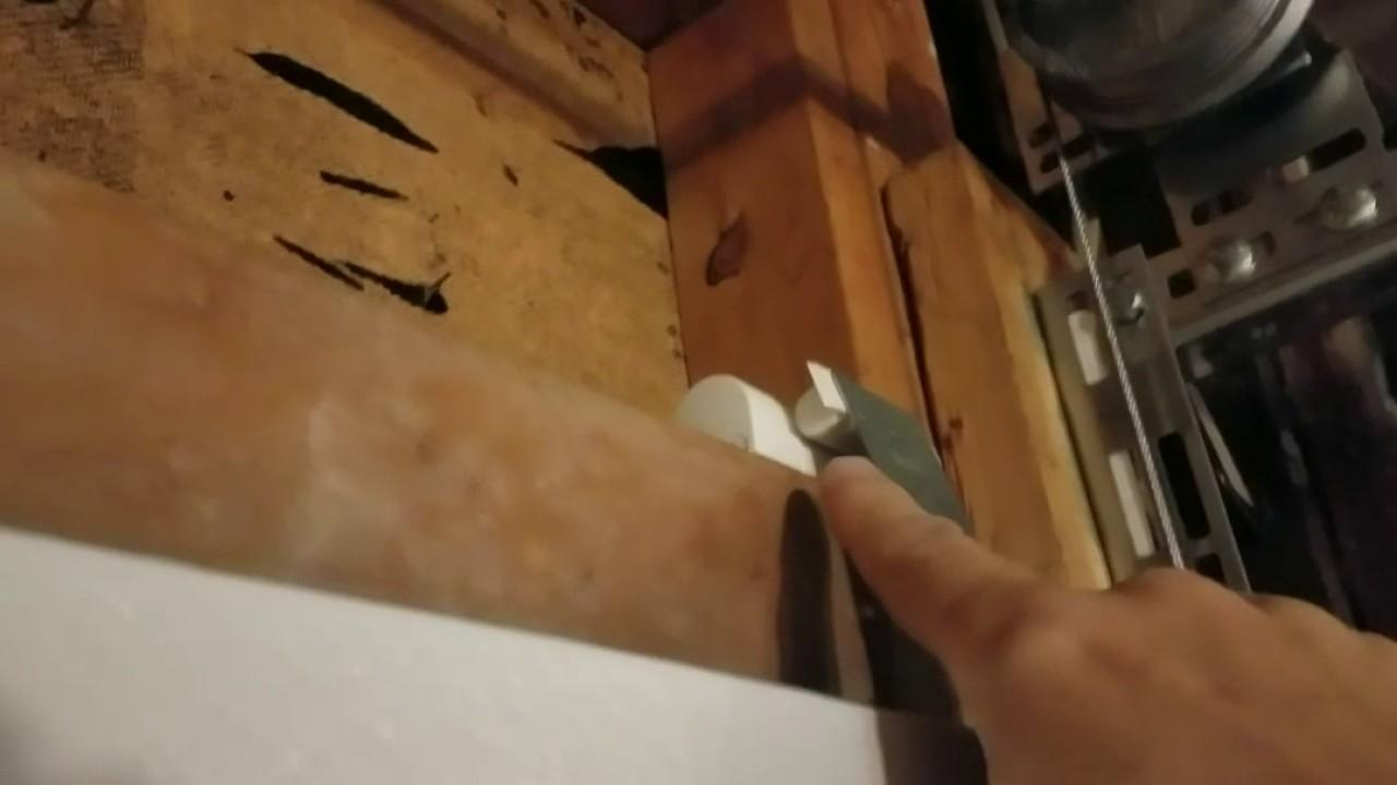 Simplisafe Entry Sensor Garage Door Installation Youtube