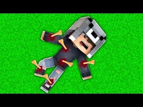 ÇOCUĞUMUN KEMİKLERİ KIRILDI! 😱 - Minecraft