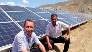 Erzurum'a 1 Milyon Dolarlık Güneş Enerji Sistemi
