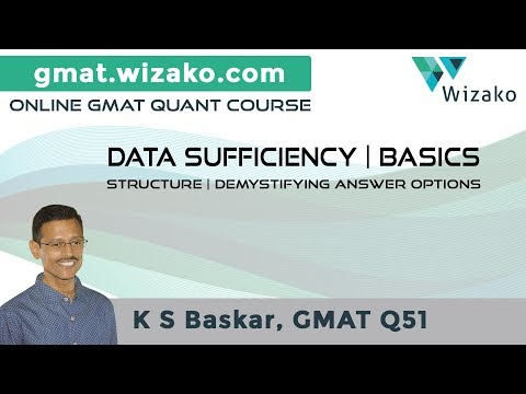 GMAT Data Sufficiency Questions | DS Strategy & Practice