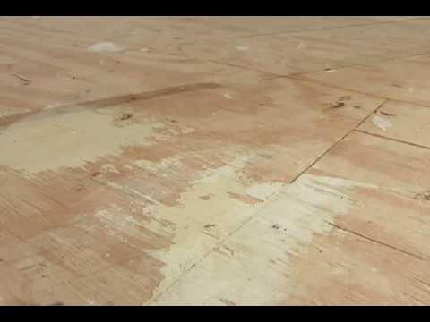 How To Prep a Wood SubFloor  YouTube