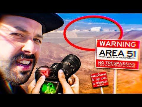 J'ai filmé LA ZONE 51 (donc la vidéo va se faire supprimer LOL)