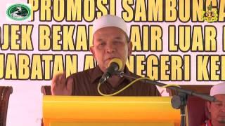Pelancaran Sambungan Baru Air Kelantan 2015 – YB Dato' Haji Hanifa