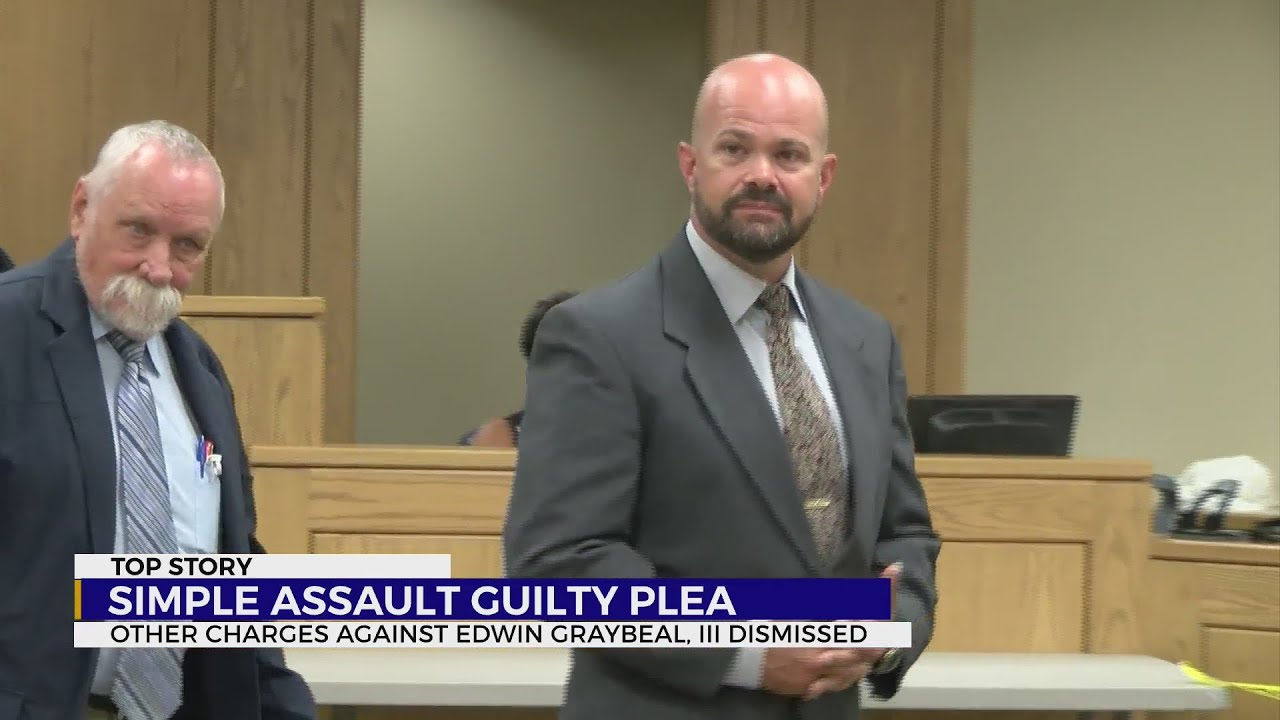 Son of Washington County, Tennessee sheriff pleads guilty to simple assault